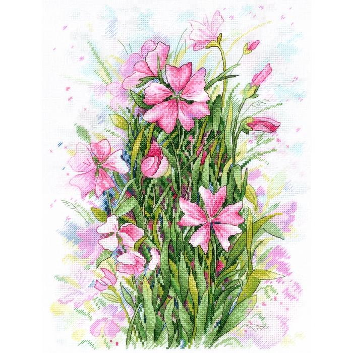 Набор для вышивания МП СТУДИЯ арт.А-034 Симфония цветов 33х23 см