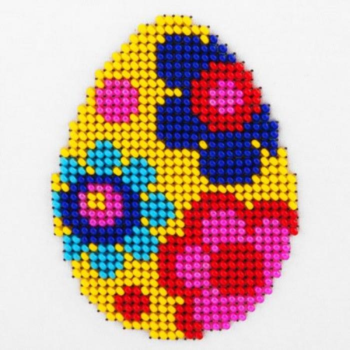 Набор для вышивания бисером LOUISE арт. L429 Пасхальное яйцо 11х11 см