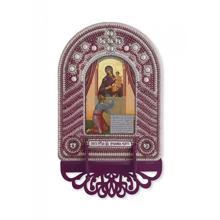 Набор для вышивания бисером НОВА СЛОБОДА арт.ВК1029 Нечаянная Радость 10х13 см