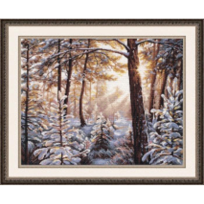 Набор для вышивания ОВЕН арт. 1166 Мороз и солнце... 38х30 см