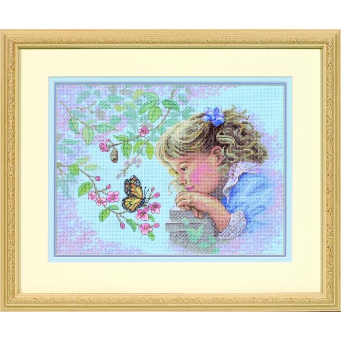 Набор для вышивания DIMENSIONS арт.DMS-13698 Нежный взгляд 30х24 см