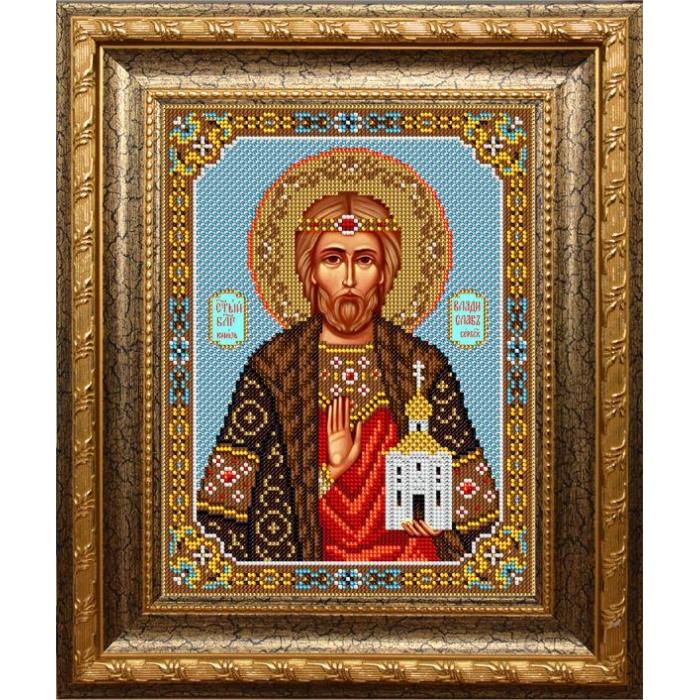 Набор для вышивания бисером ВЫШИВАЕМ БИСЕРОМ арт.L132 Князь Владислав 19х25см