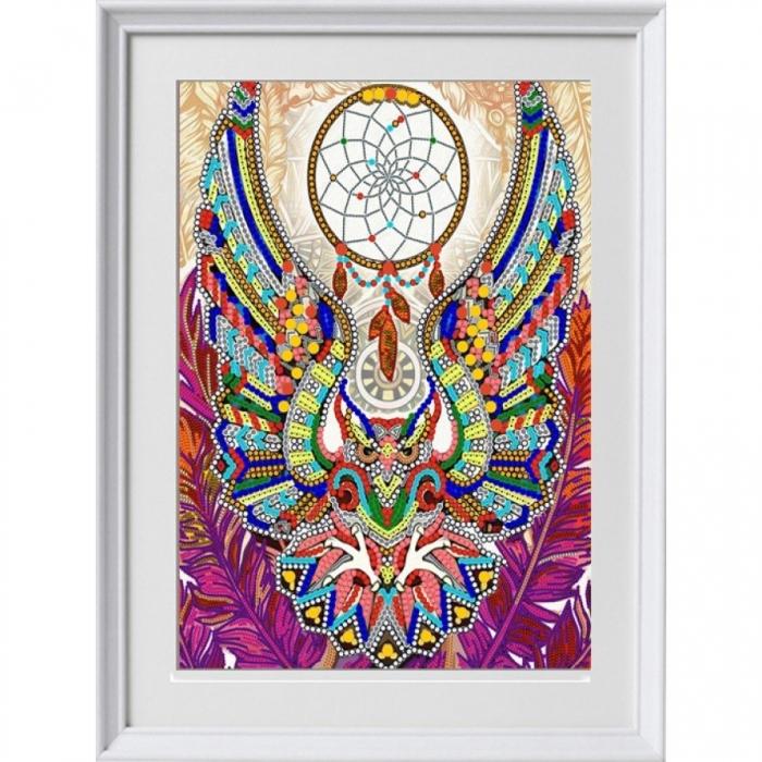 Рисунок на ткани (Бисер) КОНЁК арт. 8492 Ловец снов 29х39 см