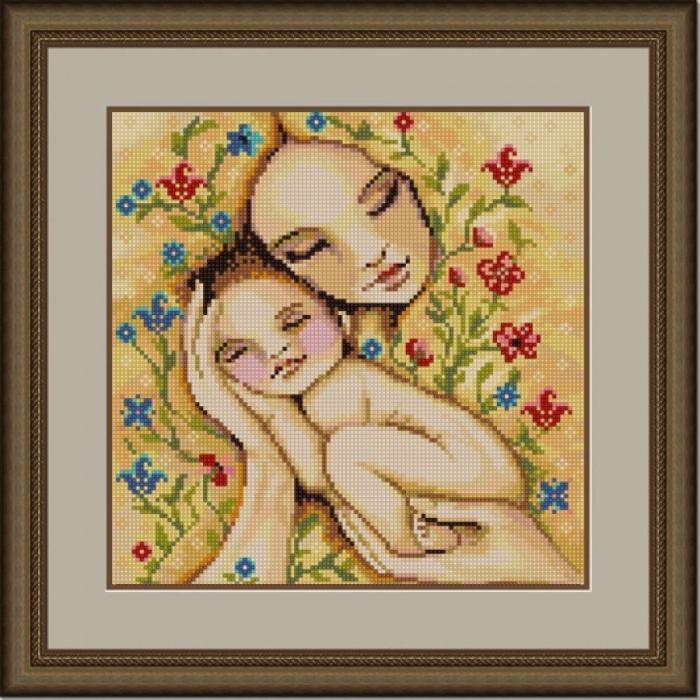 Рисунок на ткани (Бисер) КОНЁК арт. 1256 Кроха 25х25 см