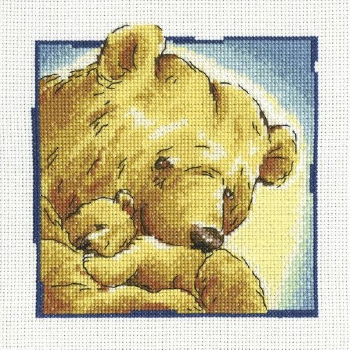 Набор для вышивания РТО арт.C192 Мама 16х16 см