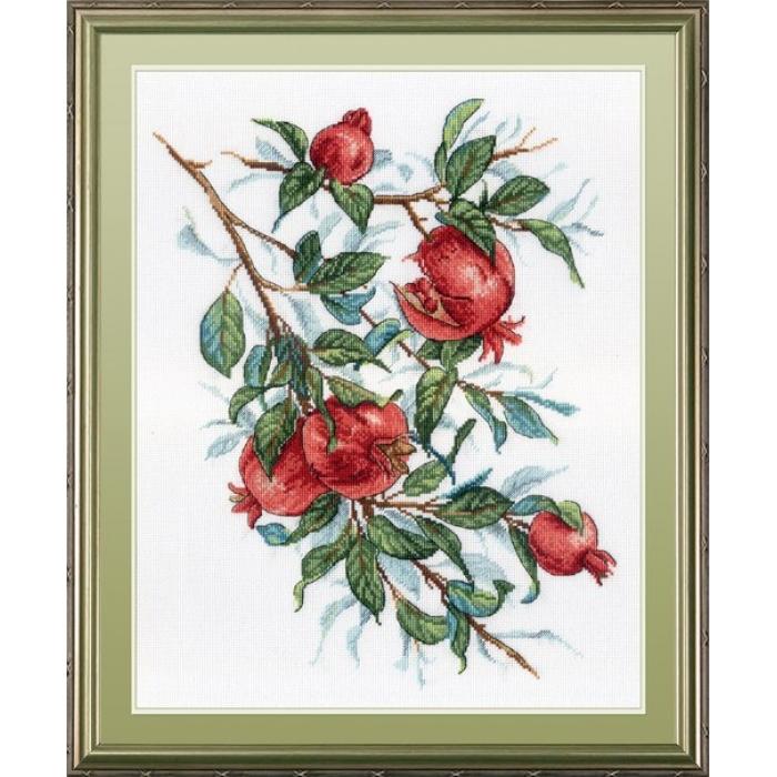 Набор для вышивания МП СТУДИЯ арт.НВ-535 Гранатовое дерево 35х28 см