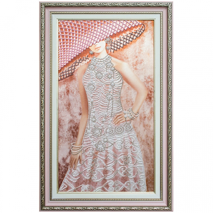 Набор для вышивания бисером НОВА СЛОБОДА арт.ДК2100 Ажур 25х46 см
