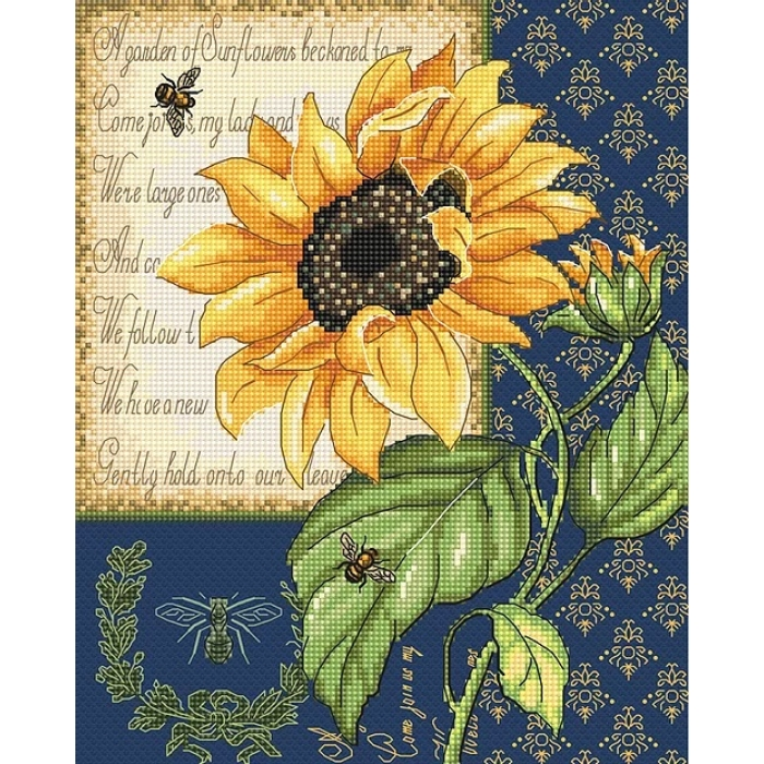 Набор для вышивания LETI арт. 998 22х18 см