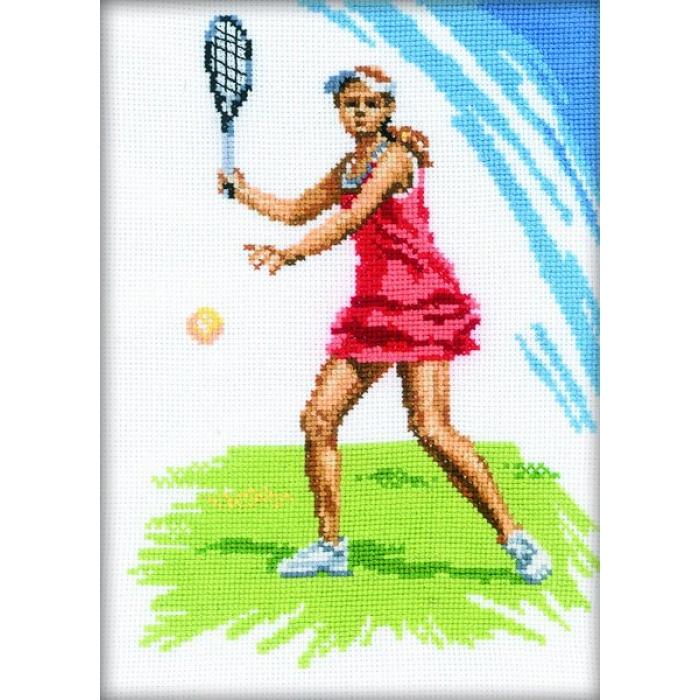 Набор для вышивания РТО арт.C092 Большой теннис 15х21 см