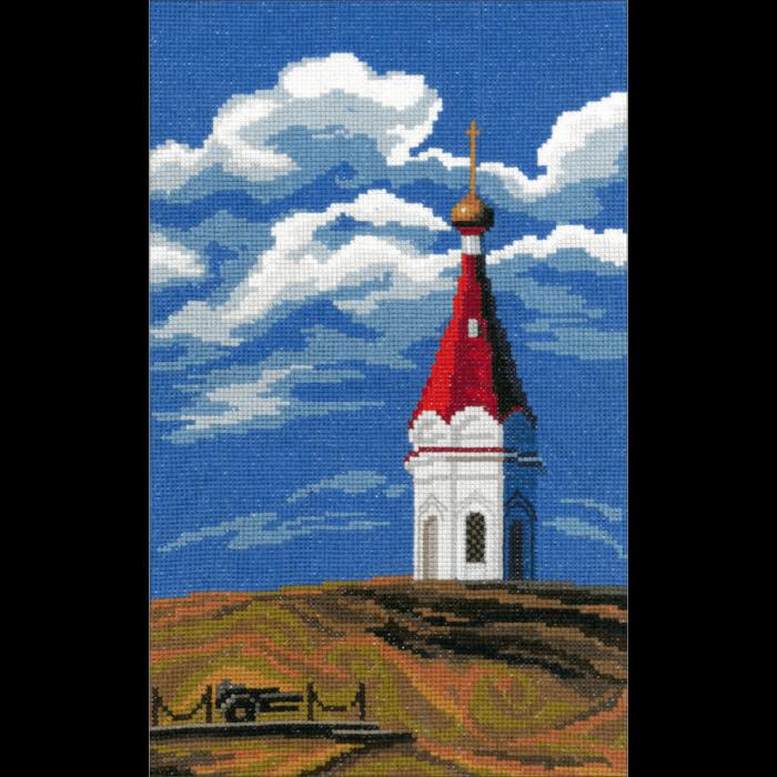 Набор для вышивания мулине НИТЕКС арт.0050 Часовня Параскевы Пятницы 18,5х30 см