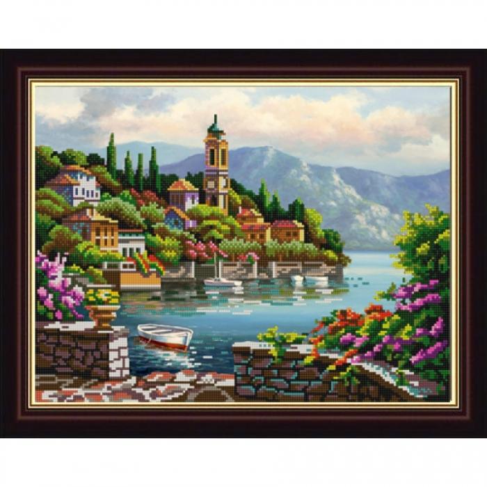 Рисунок на ткани (Бисер) КОНЁК арт. 9813 Морская 29х39 см