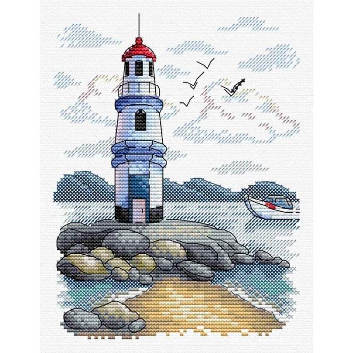 Набор для вышивания ЖАР-ПТИЦА арт.М-216 Маяк 18х14 см