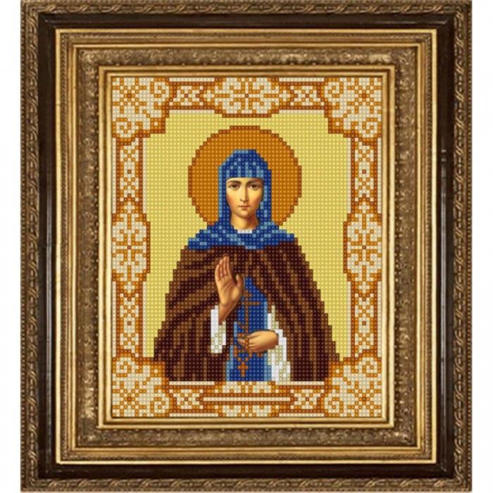 Рисунок на ткани (Бисер) КОНЁК арт. 9160 Святая Марина 15х18 см