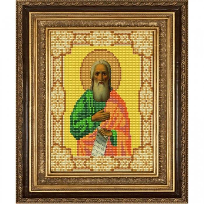 Рисунок на ткани (Бисер) КОНЁК арт. 9170 Святой Илья 15х18 см