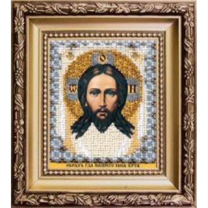 Набор для вышивания бисером ЧАРИВНА МИТЬ арт.Б-1170 Образ Господа Нашего Иисуса Христа 9х11 см