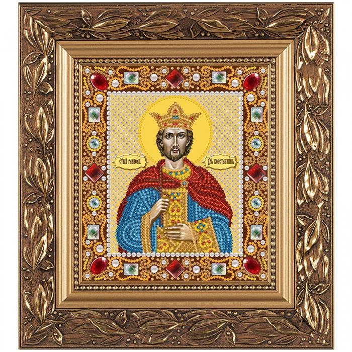 Набор для вышивания бисером НОВА СЛОБОДА арт.Д6123 Св.Равноап. Царь Константин 13х15 см
