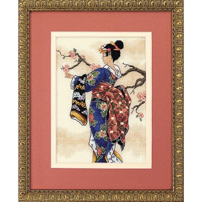 Набор для вышивания DIMENSIONS арт.DMS-06760 Маи 13х18 см
