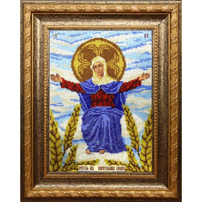 Набор для вышивания бисером ВЫШИВАЕМ БИСЕРОМ арт.L119 Спорительница хлебов 19х27,5 см
