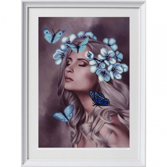 Рисунок на ткани (Бисер) КОНЁК арт. 1347 Светлана 29х39 см