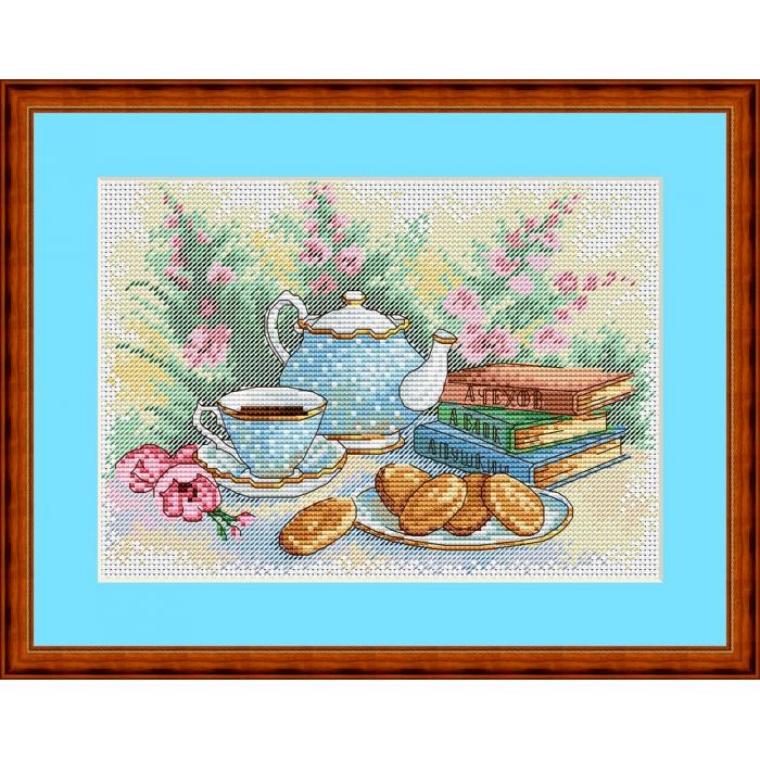 Набор для вышивания ЖАР-ПТИЦА арт.М-106 Утренняя классика 21х15 см