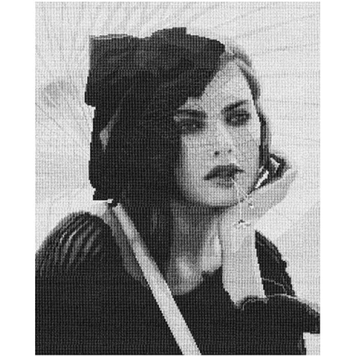 Набор для вышивания мулине НИТЕКС арт.0081 Алиса 38х47 см