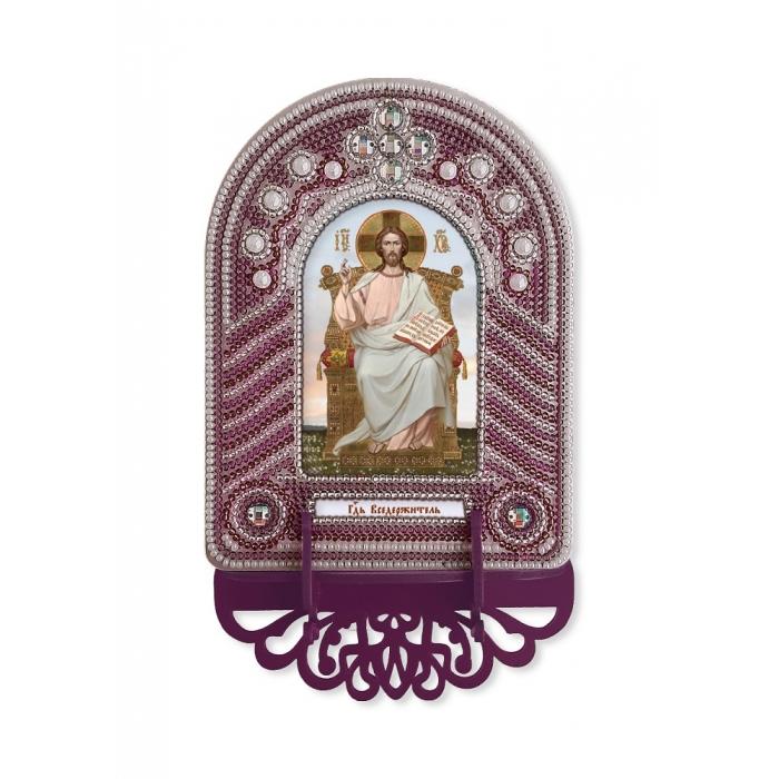 Набор для вышивания бисером НОВА СЛОБОДА арт.ВК1001 Господь Вседержитель 10х13 см