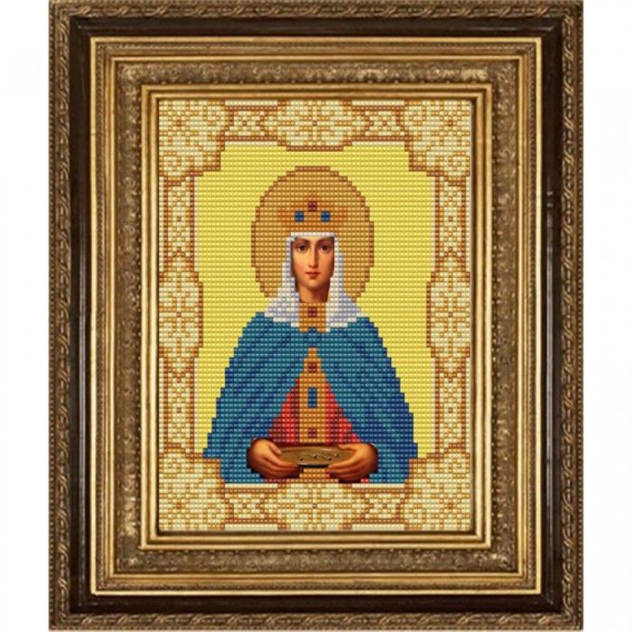 Рисунок на ткани (Бисер) КОНЁК арт. 9152 Святая Елена Константинопольская 15х18 см