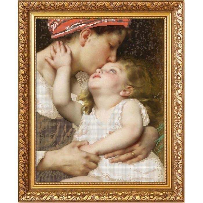 Рисунок на ткани (Бисер) КОНЁК арт. 1288 Материнская нежность 29х39 см