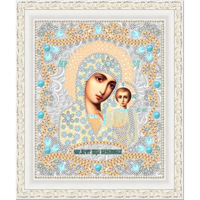 Рисунок на ткани (Бисер) КОНЁК арт. 7116 Богородица Казанская 15х18 см