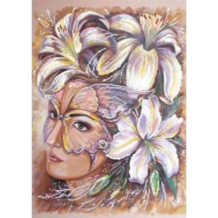Набор для вышивания бисером МАТРЕНИН ПОСАД арт.37х49 - 0018/Б Таинственность
