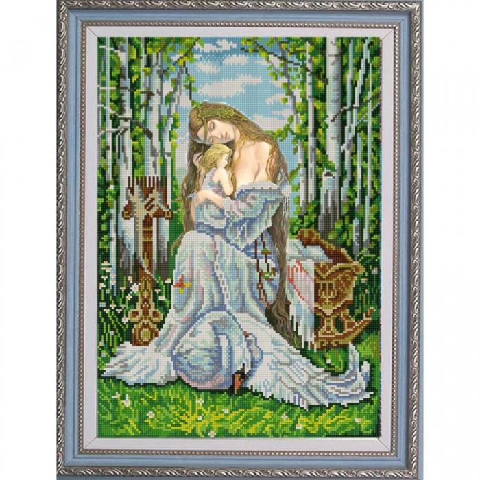 Рисунок на ткани (Бисер) КОНЁК арт. 9915 Берегиня 29х39 см