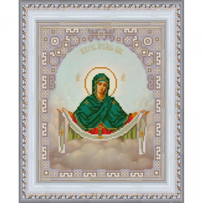 Рисунок на ткани (Бисер) КОНЁК арт. 9214 Богородица Покрова 20х25 см