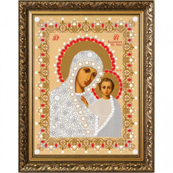 Рисунок на ткани (Бисер) КОНЁК арт. 7101 Богородица Казанская 29х39 см