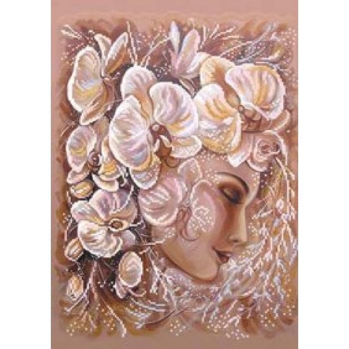 Набор для вышивания бисером МАТРЕНИН ПОСАД арт.37х49 - 0019/Б Изысканность