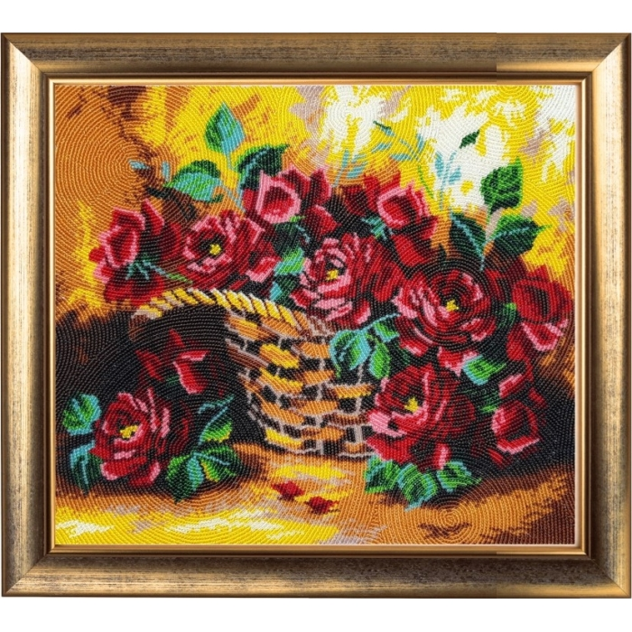 Набор для вышивания BUTTERFLY арт. 181 Солнечные розы 28х31 см