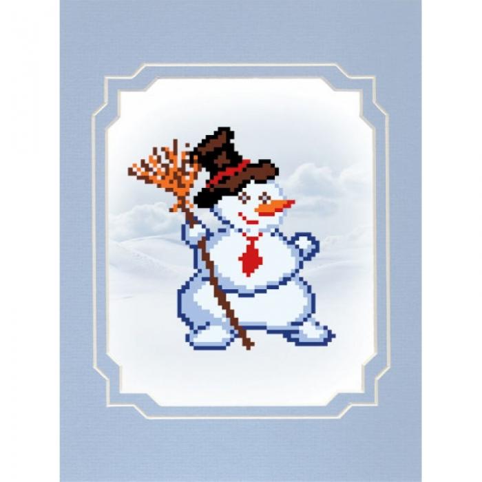 Набор для вышивания бисером с паспарту МАТРЕНИН ПОСАД арт.18х24 - 80/БП Пижон