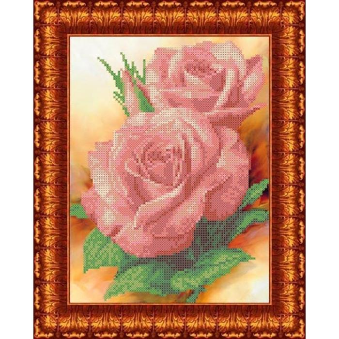Канва с нанесенным рисунком КАРОЛИНКА арт. КК-0004 Поэзия 19х22,5 см