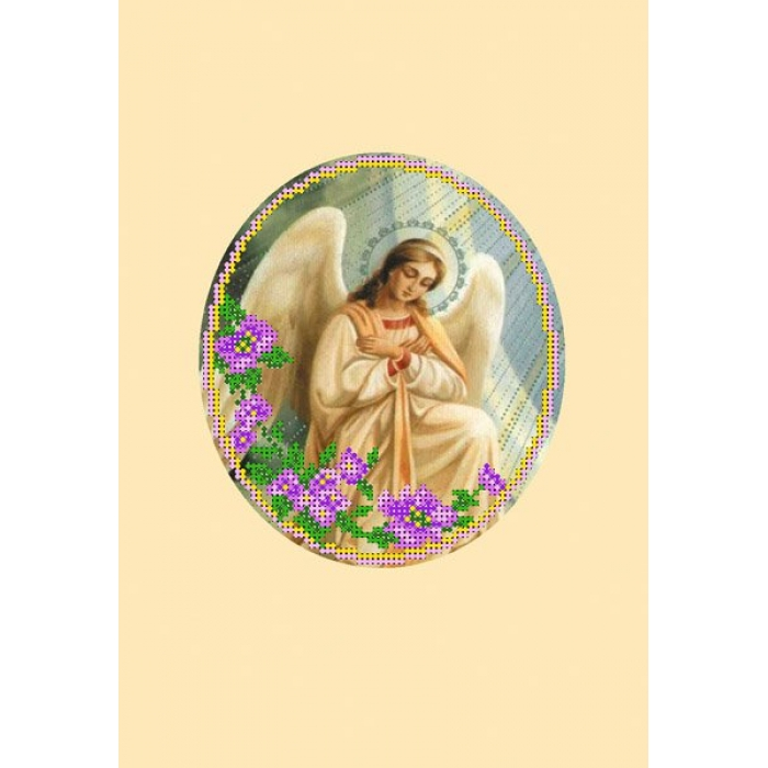Набор для вышивания бисером с паспарту МАТРЕНИН ПОСАД арт.20,5х30,5 - 22/БП Ангел 1