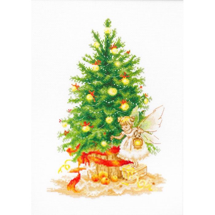 Набор для вышивания LUCA-S арт. B1117 Рождественская Ёлка 19х28,5 см