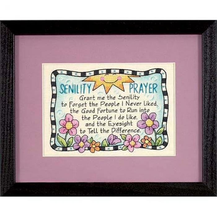 Набор для вышивания DIMENSIONS арт.DMS-06945 Молитва 18х13 см