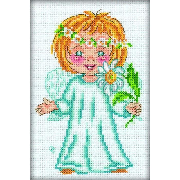 Набор для вышивания РТО арт.C127 Цветок на счастье 12х18 см