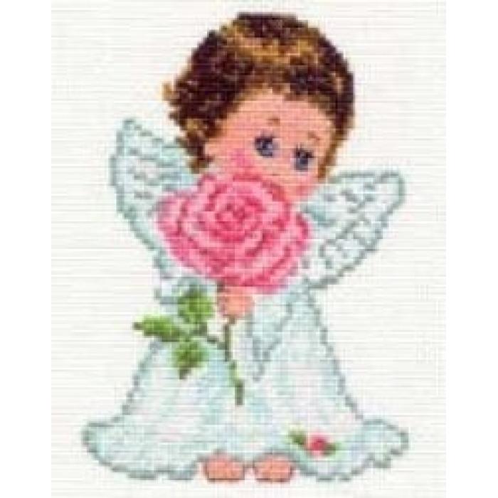 Набор для вышивания АЛИСА арт.0-13 Ангелок любви 10х14 см