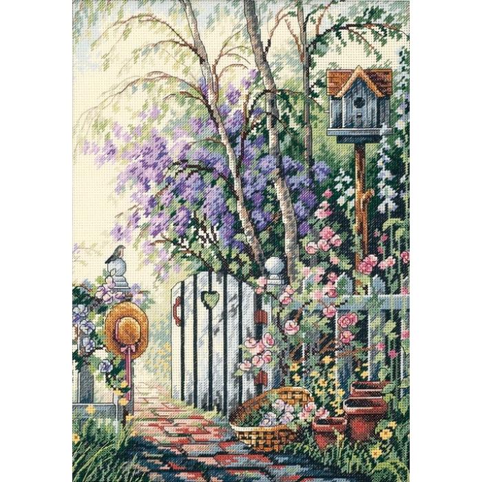 """Набор для вышивания Classic Design арт.4392 """"Калитка в сад"""" 25х36 см"""