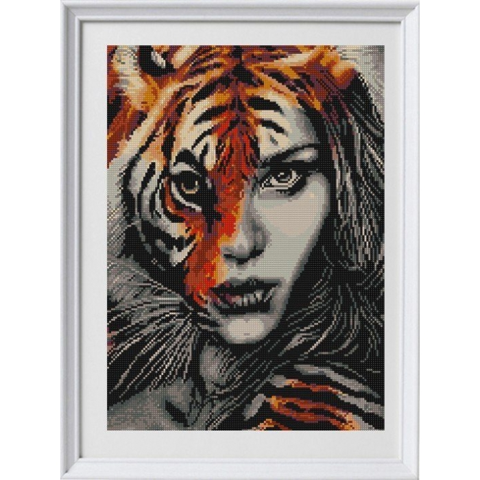 Рисунок на ткани (Бисер) КОНЁК арт. 1335 Хищница 1 29х39 см
