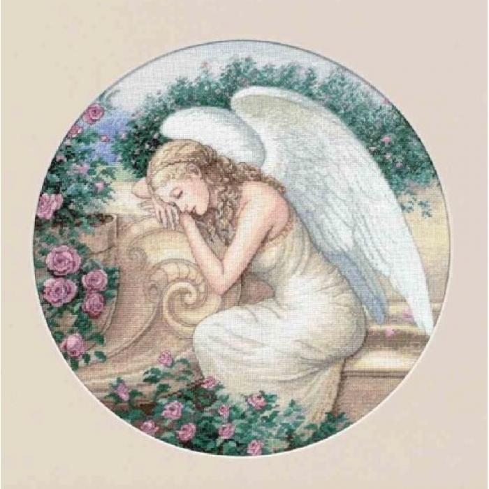 """Набор для вышивания Classic Design арт.4334 """"Садовый ангел"""" 39х39 см"""