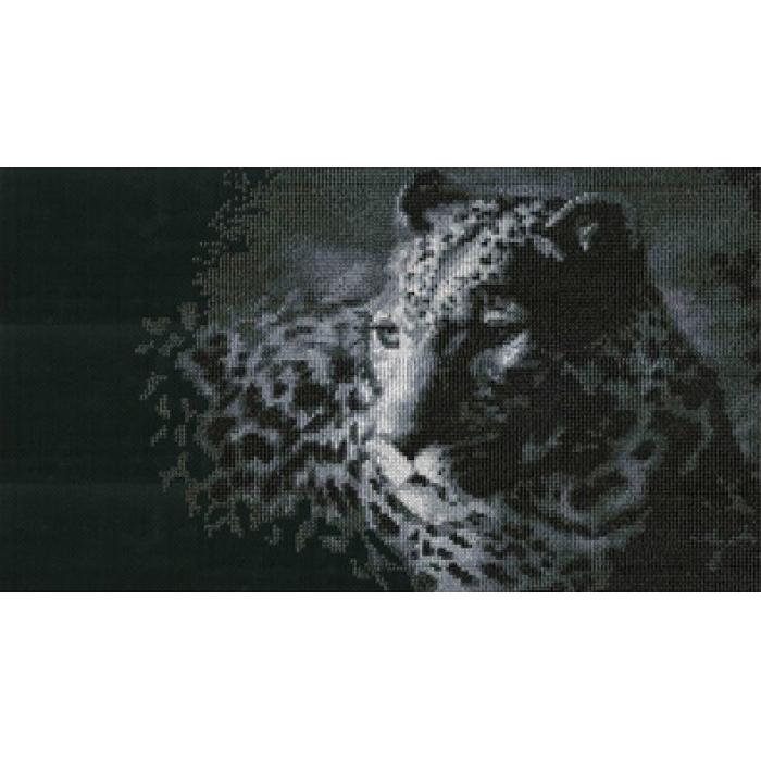 Набор для вышивания мулине НИТЕКС арт.0036 Леопард 36х20 см