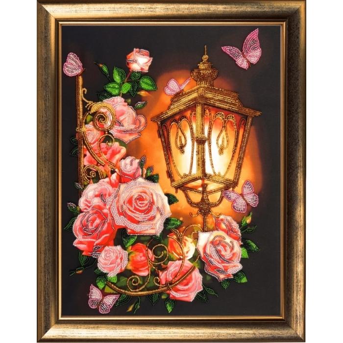 Набор для вышивания BUTTERFLY арт. 127 Розовый фонарь 36х27 см
