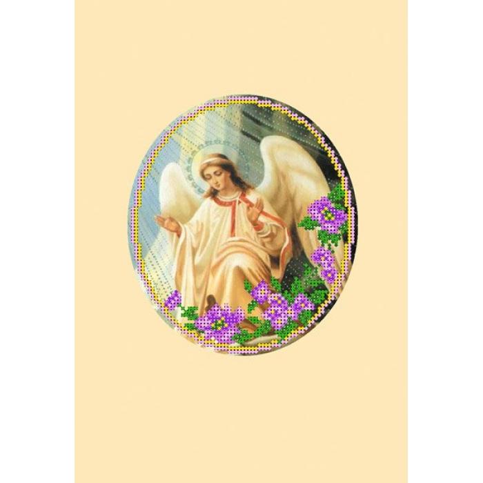 Набор для вышивания бисером с паспарту МАТРЕНИН ПОСАД арт.20,5х30,5 - 23/БП Ангел 2