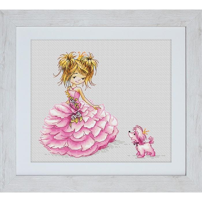 Набор для вышивания LUCA-S арт. B1056 Принцесса 16х13,5 см
