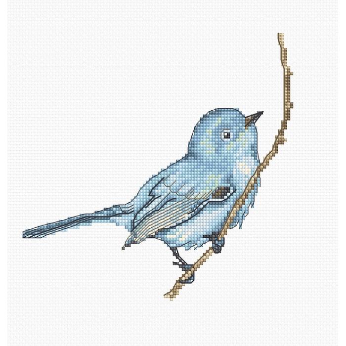 Набор для вышивания LUCA-S арт. B1158 Певчая птица 14х14 см